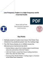 Low frequency traders survival guide