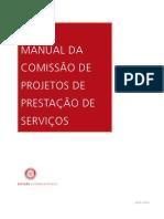 Manual da Comissão de Projetos de Prestação de Serviços