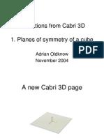 Cube Symmetry