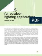 Adv. and Dis-adv. of LEDs