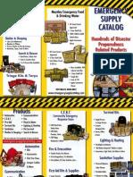 PPAIExpo2013 Mayday Group emergency supply kits flyer