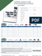 PPAIExpo2013 Sanmar samples offer