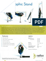PPAIExpo2013 Radius Display tilt graphic stand and tablecovers