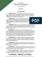 Ohio Proclamation 2013