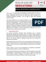 ¿Qué son las amenazas persistentes avanzadas (APTs)?