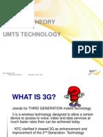 3G basic theroy