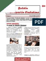 1.BOLETIN PARTICIPACIÓN 2.