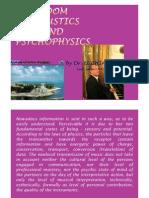 Room acoustics and psychophysics