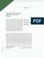 מאמרה של פרופסור מאירה וייס:from fat to thinin - formal rites affirming identity change