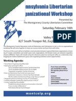 Libertarian Workshop Feb 16, 2013