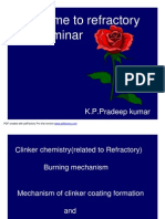 Mechanism of clinker coating formation & Flame