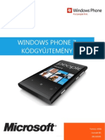 Windows Phone 7 Kódgyűjtemény