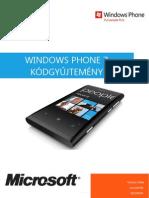 Windows Phone 7 Kódgyűjtemény