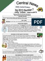 Newsletter Spring 3 2013