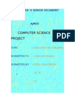 Project on Computer Science Made by Nitin Chandwani Xi - b 22