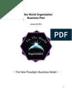 Fix The World Business Plan