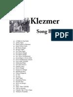 Klezmer-Song-Book