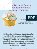 Cake and Personal Finance