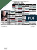 calendar of events-ii sem  (MBA) -Student