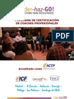 Programa de Certificación de Coaches Profesionales