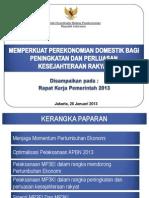 Rapat Kerja Pemerintah 2013