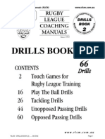 Rugby league drills- 2