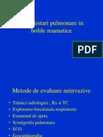 3. Manifestari Pulmonare in Bolile Reumatice