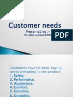 Customer needs lec (9)