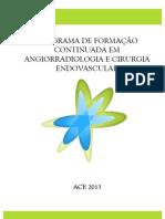 Calendário Curso ACE 2013