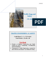 traffic engineering study TES