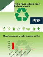 Effluent Reuse in Power Plants