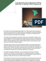 Internet como medio de denuncia ante el abuso de la Policía en protestas de Madrid The Way To Determine A Legitimate Programa de Inventario Gratis.20130128.080707