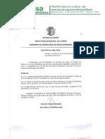 Lista de Exonerados Da Prefeitura