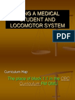 BEING A MEDICAL STUDENT AND LOCOMOTOR SYSTEM.ppt