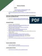 historica websites