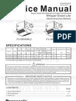 Panasonic - FV-08VKML2-FV-08VKSL2.Manual Spec Sheet- Westside Wholesale - Call 1-877-998-9378.Image.marked