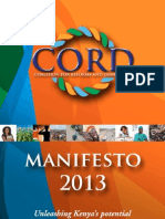 CORD Manifesto 2013