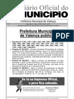 Diario Oficial Do Municipio de Valenca Bahia Edicao 604