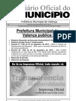 Diario Oficial Do Municipio de Valenca Bahia Edicao 613