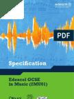 GCSE Specification
