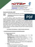 Directiva  N° 001-2013-CEN/SUTEP