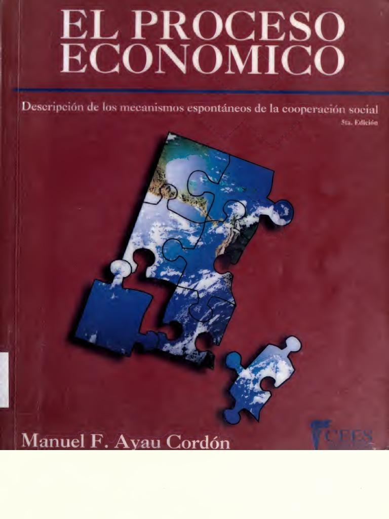 libro el proceso economico manuel ayau