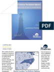 "Powerpoint Presentation for ""North Carolina Tax Reform Options"