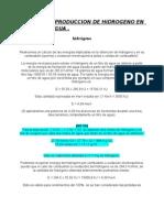 CALCULO DE PRODUCCION DE HIDROGENO EN  1 LITRO DE AGUA.doc