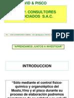 Proceso de Produccion Del Pisco