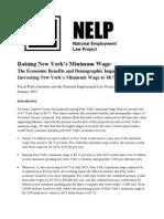 Raising New York Min Wage FPI NELP