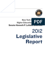 Higher Ed 2012 Committee Report