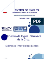 El Centro de Ingles - Trinity Exams PPT
