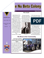 January 2013 Phi Gamma Delta - Nu Beta Colony Graduate Newsletter