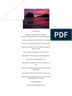 For Presence -O'Donahue